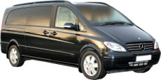 Tours of Preston and the UK. Chauffeur driven, top of the Range Mercedes Viano people carrier (MPV)