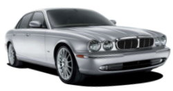 Chauffeur driven cars in Preston area, including the long wheel based version of the new Jaguar XJ