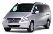 Chauffeur driven Mercedes Viano people carrier - Up to 7 passengers in comfort, from Cars for Stars (Preston) - Airport Transfer Services